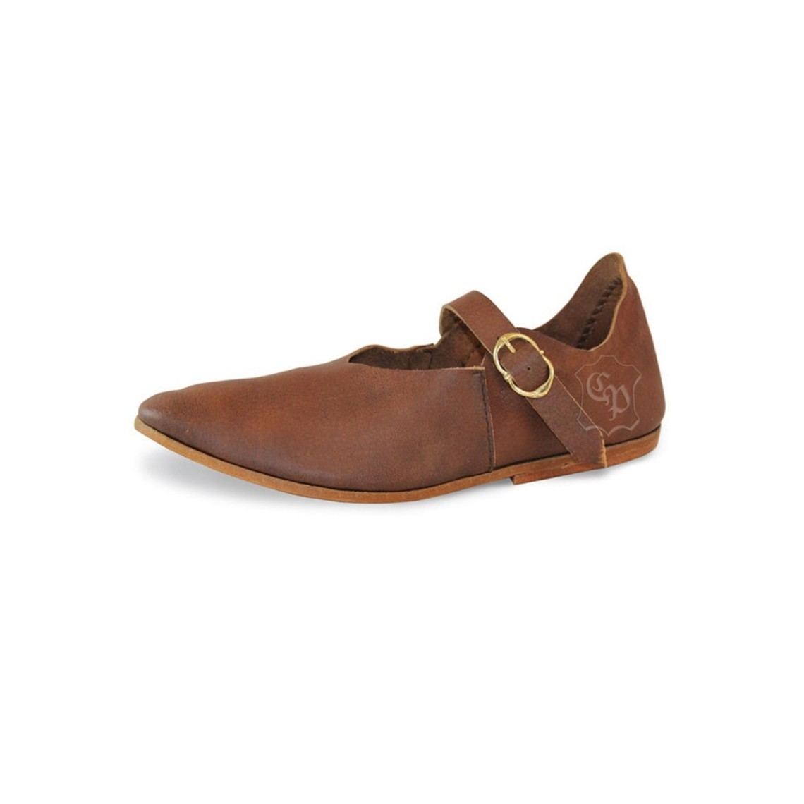 Spätmittelalterliche wiederum Schuhe Nantes