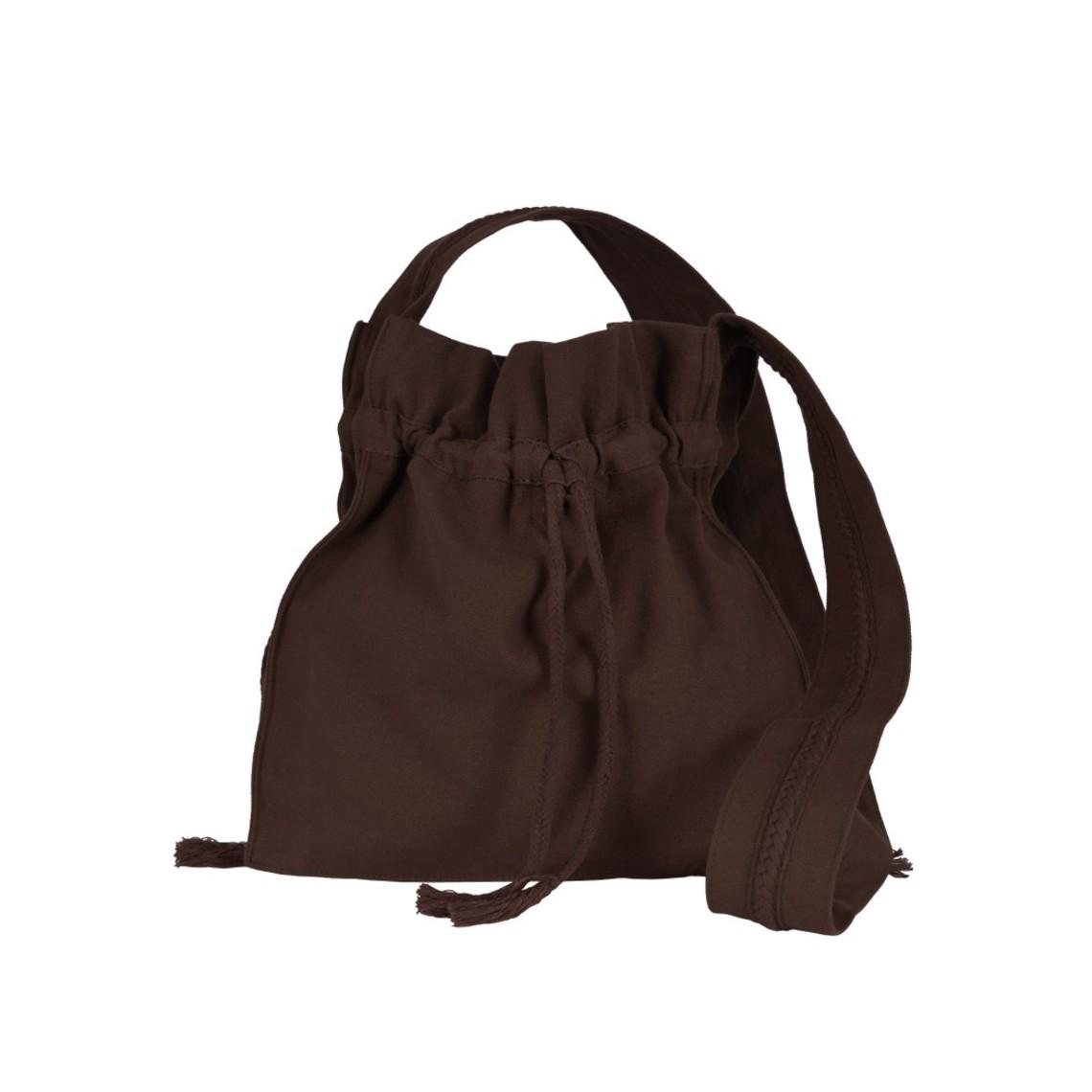 marrón peregrino bolsa de Burgos