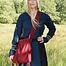 Pilgrim bag Burgos red
