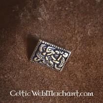 House of Warfare Black leather ring belt, 170 cm