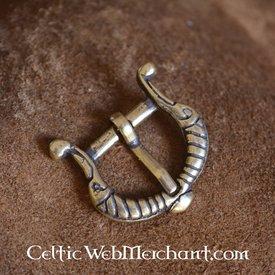 Viking spänne stiliserade fåglar