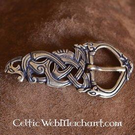 Viking spänne Midgard ormen brons