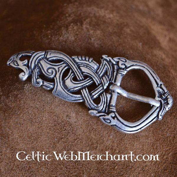 Viking klamra wąż Midgardu