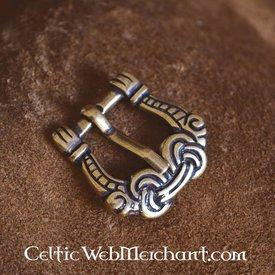 Viking spänne gripande händer