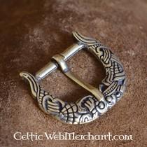 9. århundrede Viking bælte, forsølvede