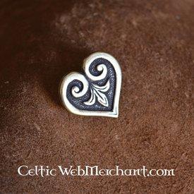 Heart-shaped Viking Gürtelbeschlag