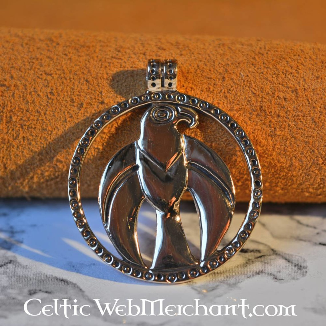 Viking falco amuleto