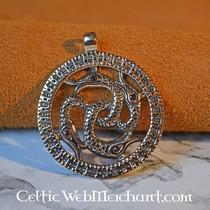Vikingo serpiente colgante