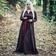 Leonardo Carbone Viking klänning Lina, mörkbrun
