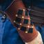 Leather vambraces Pius, brown