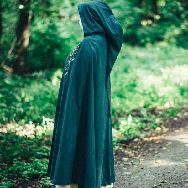 Mantel Serafina, groen