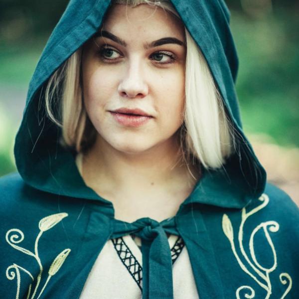 Mantello Serafina, verde