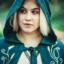 Płaszcz Serafina, zielony