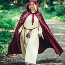 Mantello Serafina, rosso