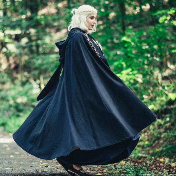 Cloak Serafina, black