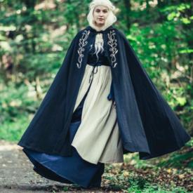 Mantel Serafina, zwart
