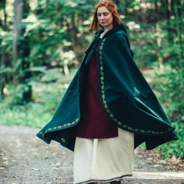 Leonardo Carbone manteau de laine Ceridwen, vert