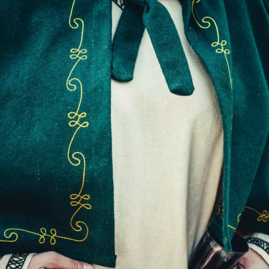 Leonardo Carbone Wollen kaproen Runa, groen