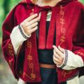 Leonardo Carbone Wool chaperon Runa, red