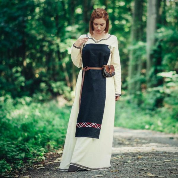 Leonardo Carbone Viking förkläde Skadi, svart