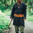 Keltische riem Ruari, lichtbruin