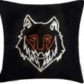 Leonardo Carbone Funda de almohada lobo Fenrir