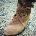 Leonardo Carbone Haithabu laarzen, velours