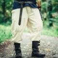 Leonardo Carbone Spodnie wikingów Dublin, naturalne