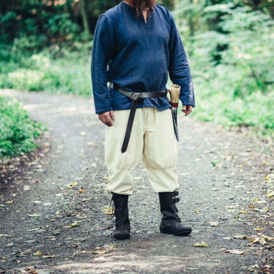 Leonardo Carbone Pantalon vikingo Dublin, natural