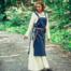 Vroegmiddeleeuwse jurk Aelswith, naturel