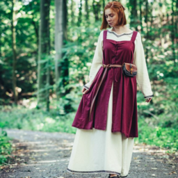 Early medieval dress Aelswith, natural