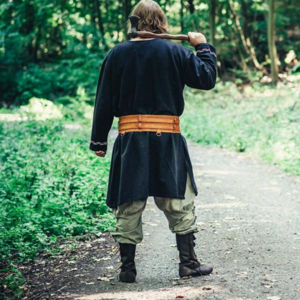 Tunique Viking Loup Fenrir, noir