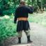 Viking tunika ulv Fenrir, sort