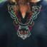 Wilk tunika wikingów Fenrir, czarny