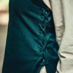Überkleid aus Wolle Frigg, grün
