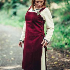 Leonardo Carbone Überkleid aus Wolle Frigg, rot