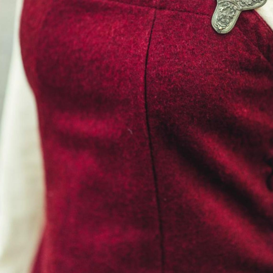 Leonardo Carbone Gancio di lana Frigg, rosso