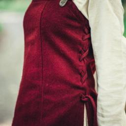 Wool hangeroc Frigg, red