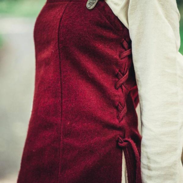 Überkleid aus Wolle Frigg, rot