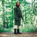 Leonardo Carbone Lange Vikingtuniek Hvitserk, groen