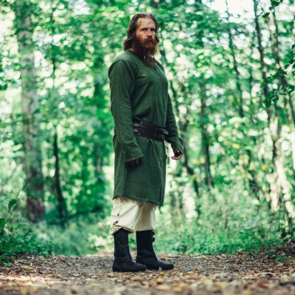 Leonardo Carbone Lang Viking tunika Hvitserk, grøn