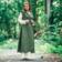 Leonardo Carbone Sukienka owijana Thyra, zielona