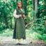 Leonardo Carbone Wrap kjole Thyra, grøn