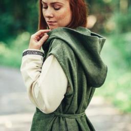 Wikkeljurk Thyra, groen