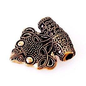Luxuriöses Thors Hammer Amulett Sigtuna, Bronze
