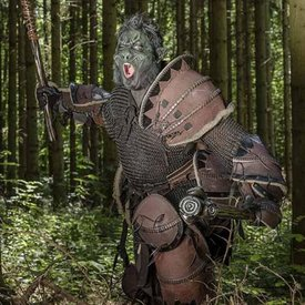Epic Armoury Orc full leather armor, brown