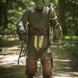 Epic Armoury Orc Volllederrüstung, schwarz