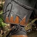 Epic Armoury Orco armaduras de cuero completo, negro