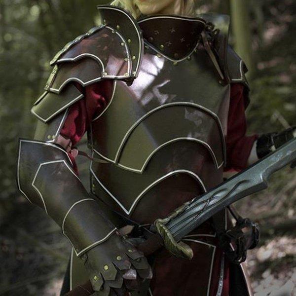 Epic Armoury Mørk Elven komplet læder rustning sæt