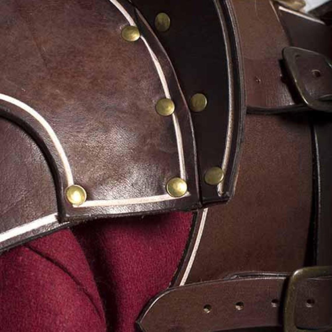 Epic Armoury Elfos Oscuros de cuero completa conjunto de armadura